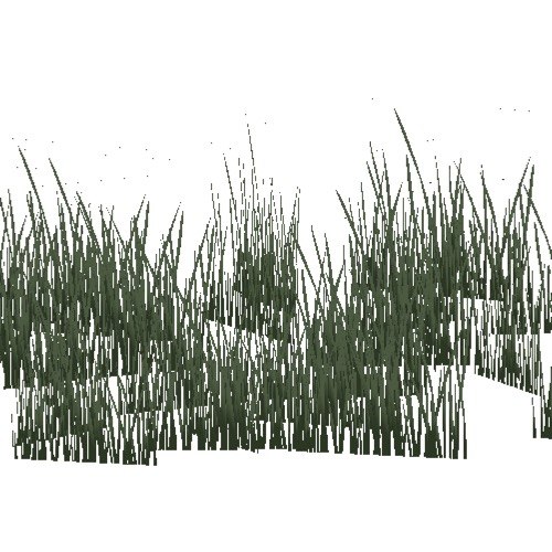 Screenshot of Grass, dark variant 1, 0.2-0.7m