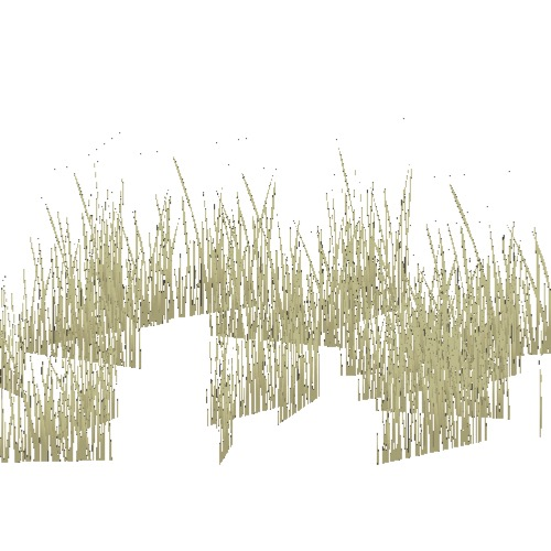 Screenshot of Grass, dry variant 5, 0.2-0.7m