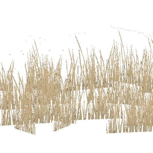 Screenshot of Grass, dry variant 6, 0.2-0.3m