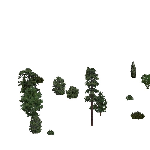 Screenshot of European Forest, Atlantic, Shrub