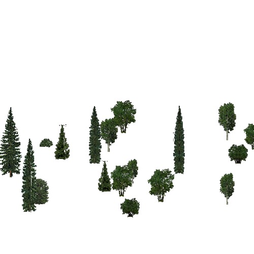 Screenshot of European Forest, Boreal, Shrub
