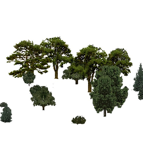 Screenshot of European Forest, Continental, Sclerophyllous