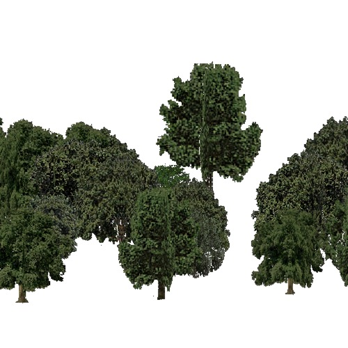 Screenshot of European Forest, Mediterranean, Broad Leaf