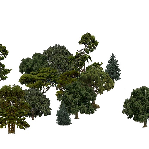 Screenshot of European Forest, Mediterranean, Shrub