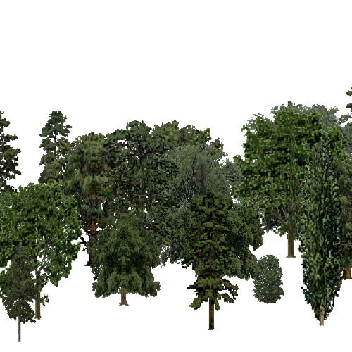 Screenshot of European Forest, Pannonian, Mixed