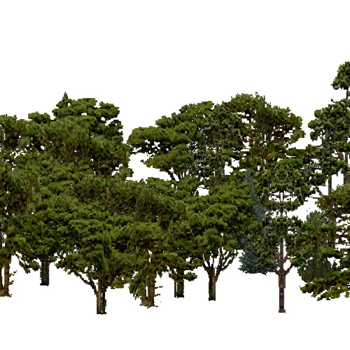 Screenshot of European Forest, Steppic, Conifer