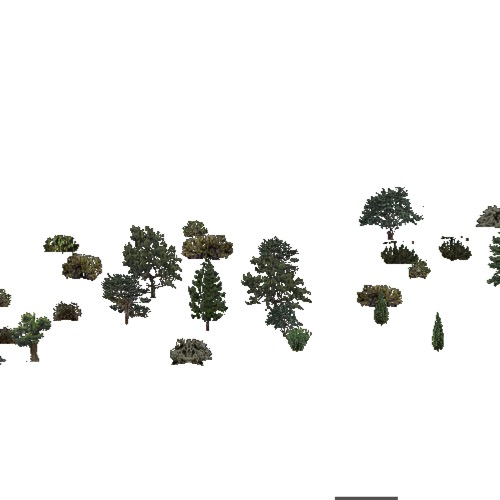 Screenshot of USA Forest, American Semi Desert And Desert, Evergreen Sparse