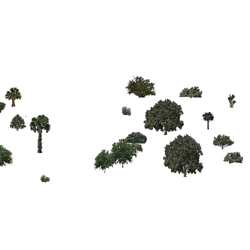 Screenshot of USA Forest, California Coastal Chapparra, Deciduous Sparse