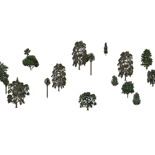 Screenshot of USA Forest, California Coastal Chapparra, Residential Low