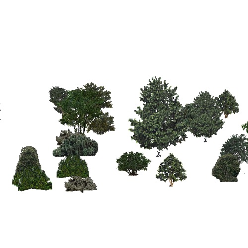 Screenshot of USA Forest, California Coastal Redwood, Shrub