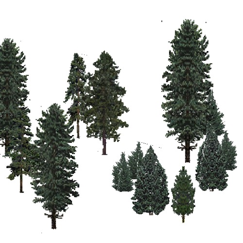 Screenshot of USA Forest, Eastern Continental, Evergreen Sparse