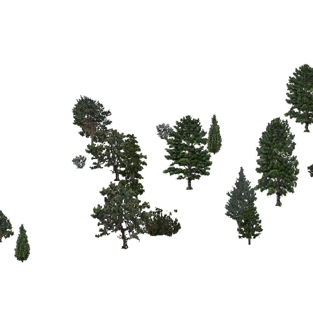 Screenshot of USA Forest, Intermountain Semi Desert, Evergreen Sparse