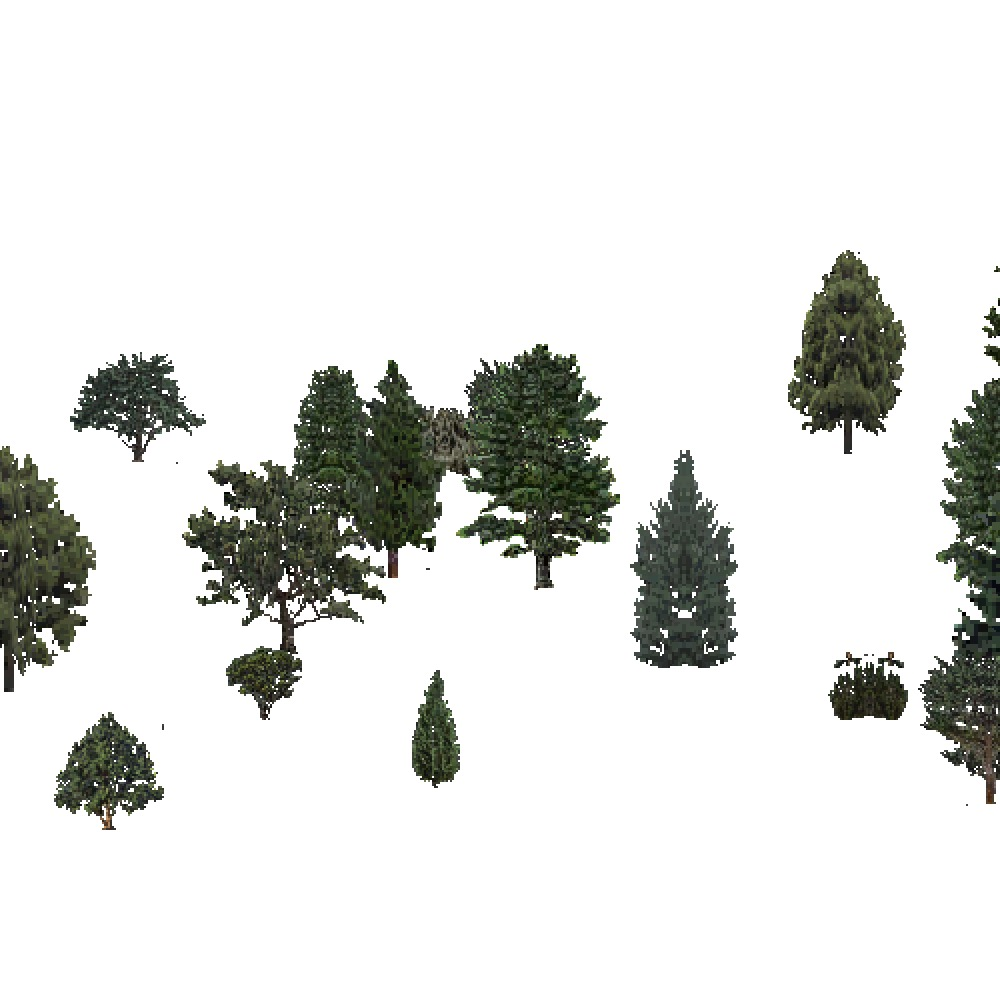 Screenshot of USA Forest, Intermountain Semi Desert And Desert, Evergreen Sparse