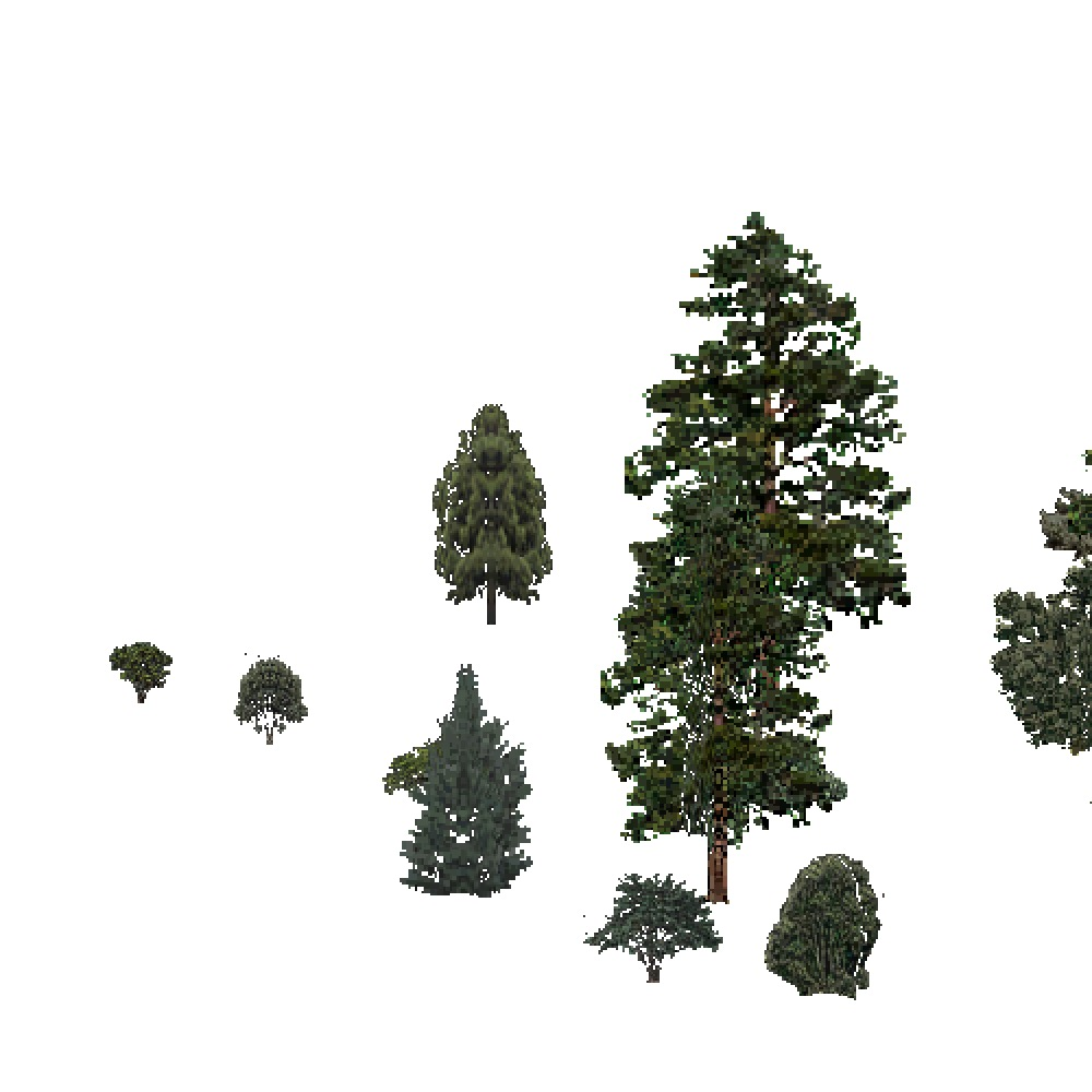 Screenshot of USA Forest, Intermountain Semi Desert And Desert, Mixed Sparse