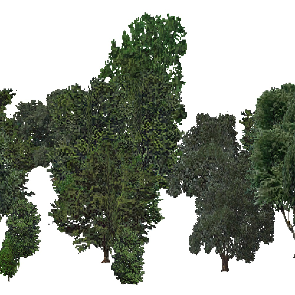 Screenshot of USA Forest, Ouachita, Deciduous Dense