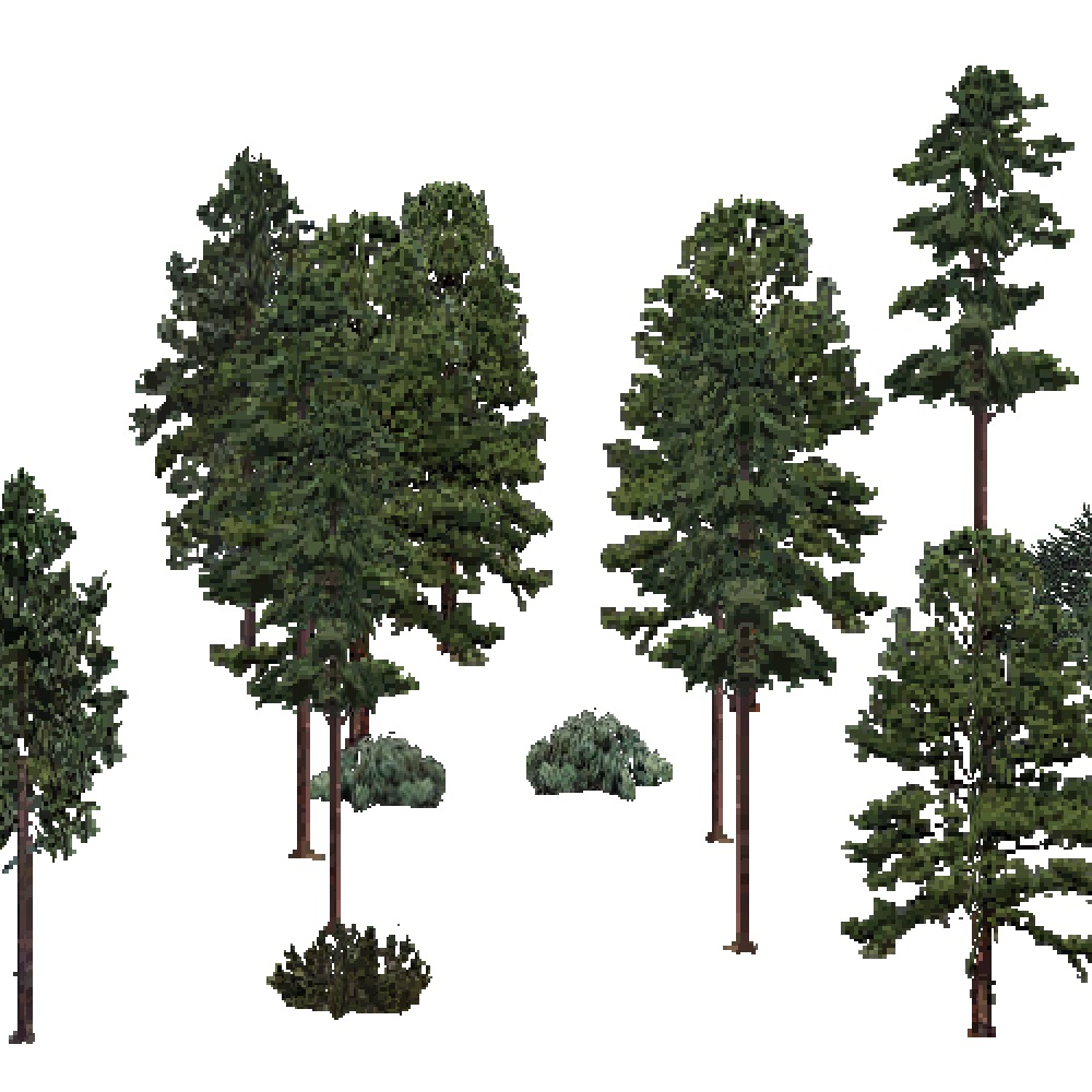 Screenshot of USA Forest, Ouachita, Evergreen Sparse