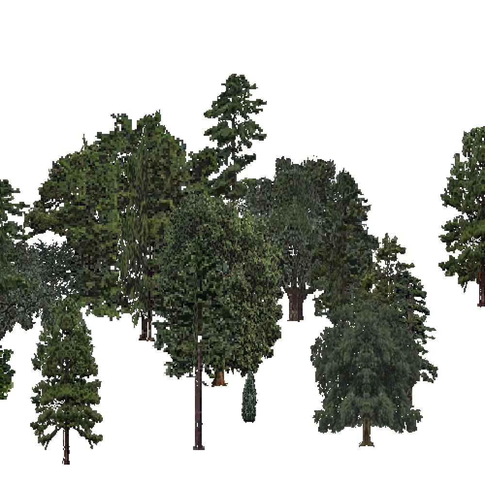 Screenshot of USA Forest, Ouachita, Mixed Sparse
