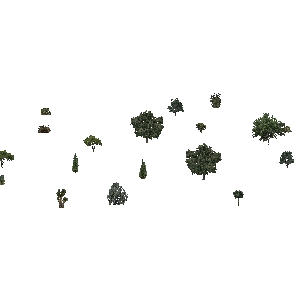 Screenshot of Deciduous Sparse