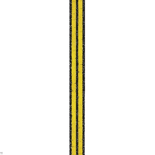 Screenshot of Double Solid line, yellow on black, variant 5