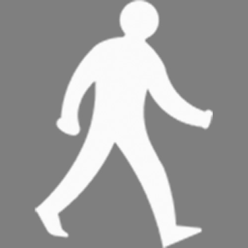 Screenshot of Pedestrian Only Route