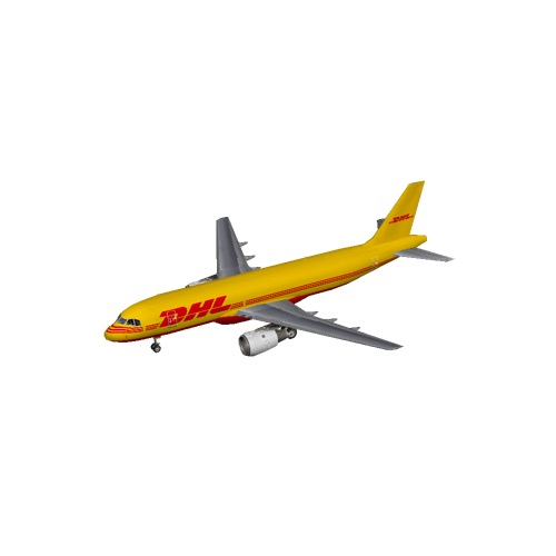 Screenshot of A320 DHL