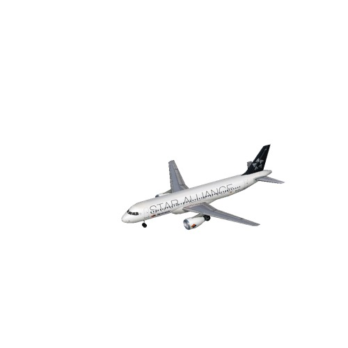 Screenshot of A320 Spanair (Star Alliance)