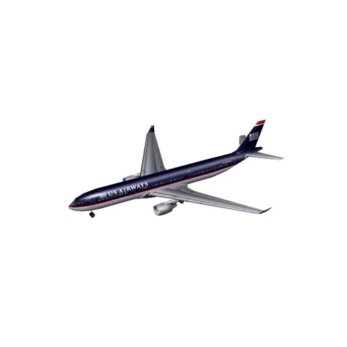 Screenshot of A330 US Airways