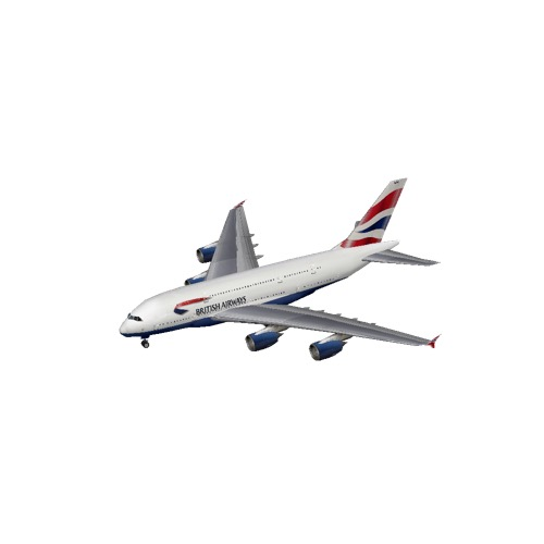 Screenshot of A380 British Airways