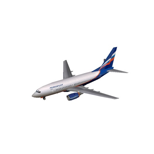 Screenshot of B737-700 Aeroflot