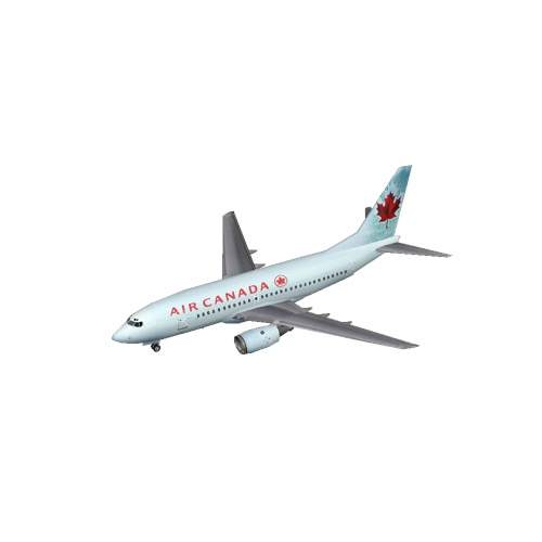 Screenshot of B737-700 Air Canada