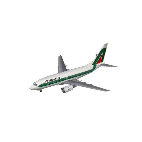 Screenshot of B737-700 Alitalia