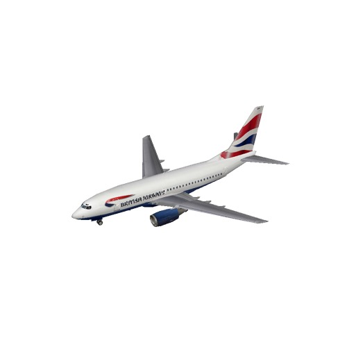 Screenshot of B737-700 British Airways