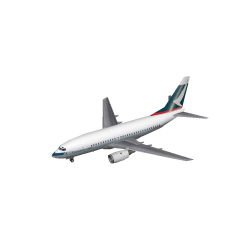 Screenshot of B737-700 Cathay Pacific