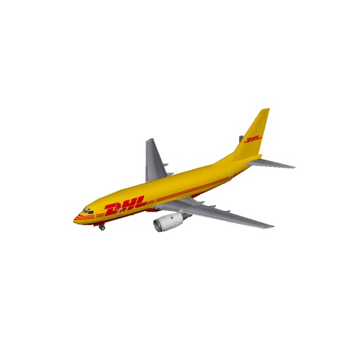 Screenshot of B737-700 DHL
