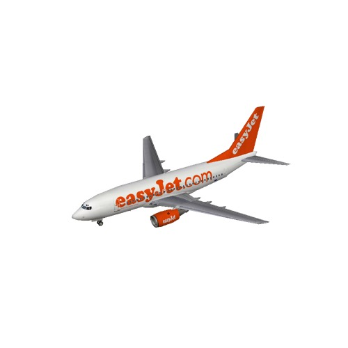 Screenshot of B737-700 easyJet