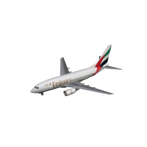 Screenshot of B737-700 Emirates
