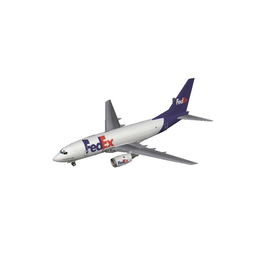Screenshot of B737-700 FedEx