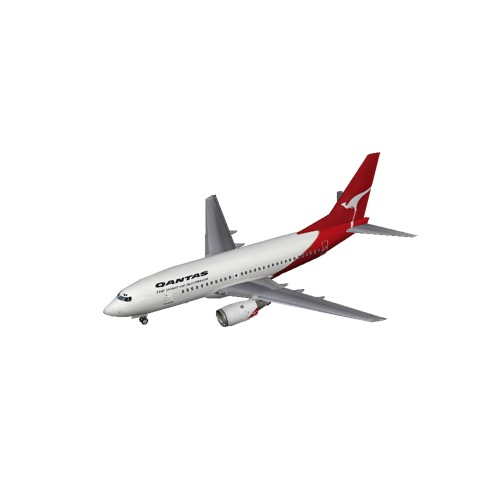 Screenshot of B737-700 Qantas