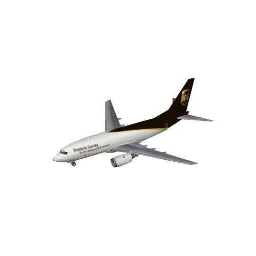 Screenshot of B737-700 UPS
