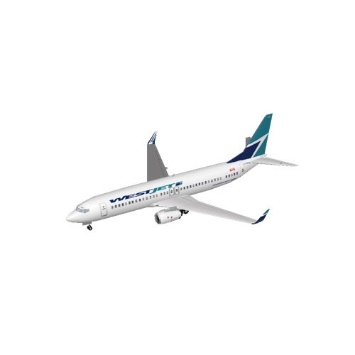 Screenshot of B737-800 Westjet