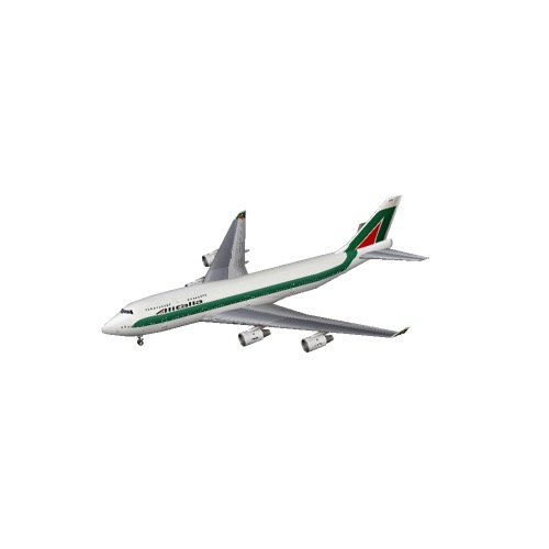 Screenshot of B747-400 Alitalia