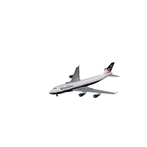 Screenshot of B747-400 British Airways (1984-1997 livery)