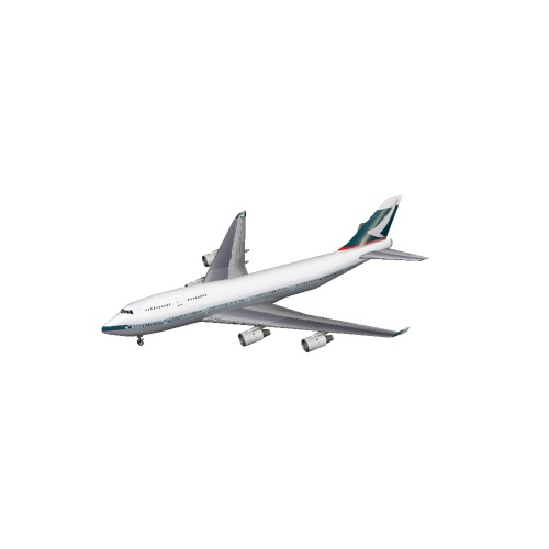 Screenshot of B747-400 Cathay Pacific