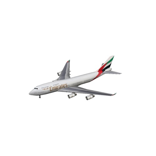 Screenshot of B747-400 Emirates