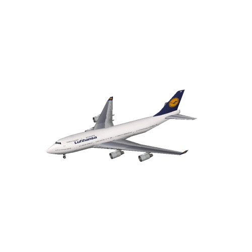 Screenshot of B747-400 Lufthansa