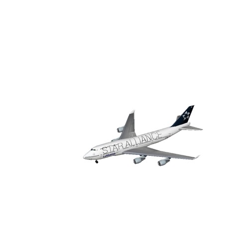 Screenshot of B747-400 Lufthansa (Star Alliance)