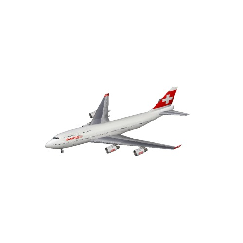 Screenshot of B747-400 Swiss