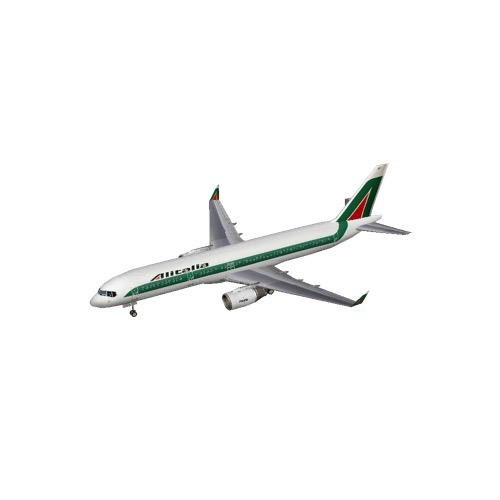 Screenshot of B757-200 Alitalia