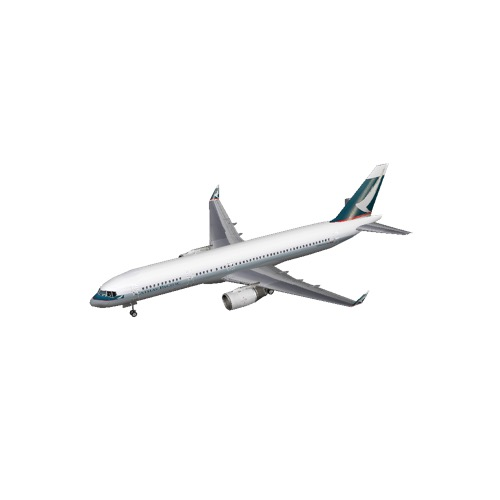 Screenshot of B757-200 Cathay Pacific