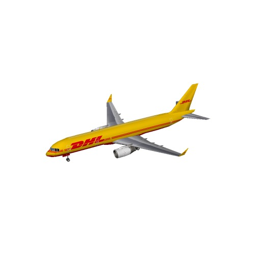 Screenshot of B757-200 DHL